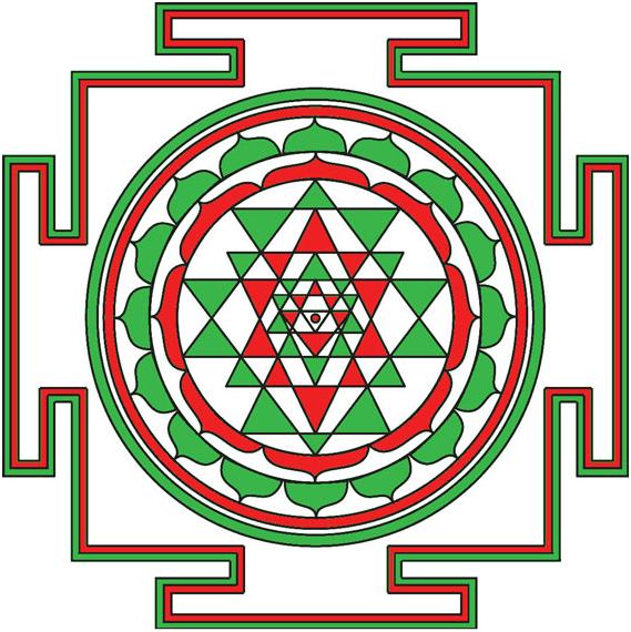 Медитация с  Шри-янтрой,  запускающая потенциальные возможности человека