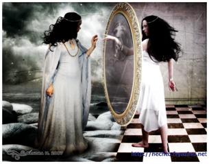 Знаки зазеркалья или зеркало разбилось … Ответы – вопросы